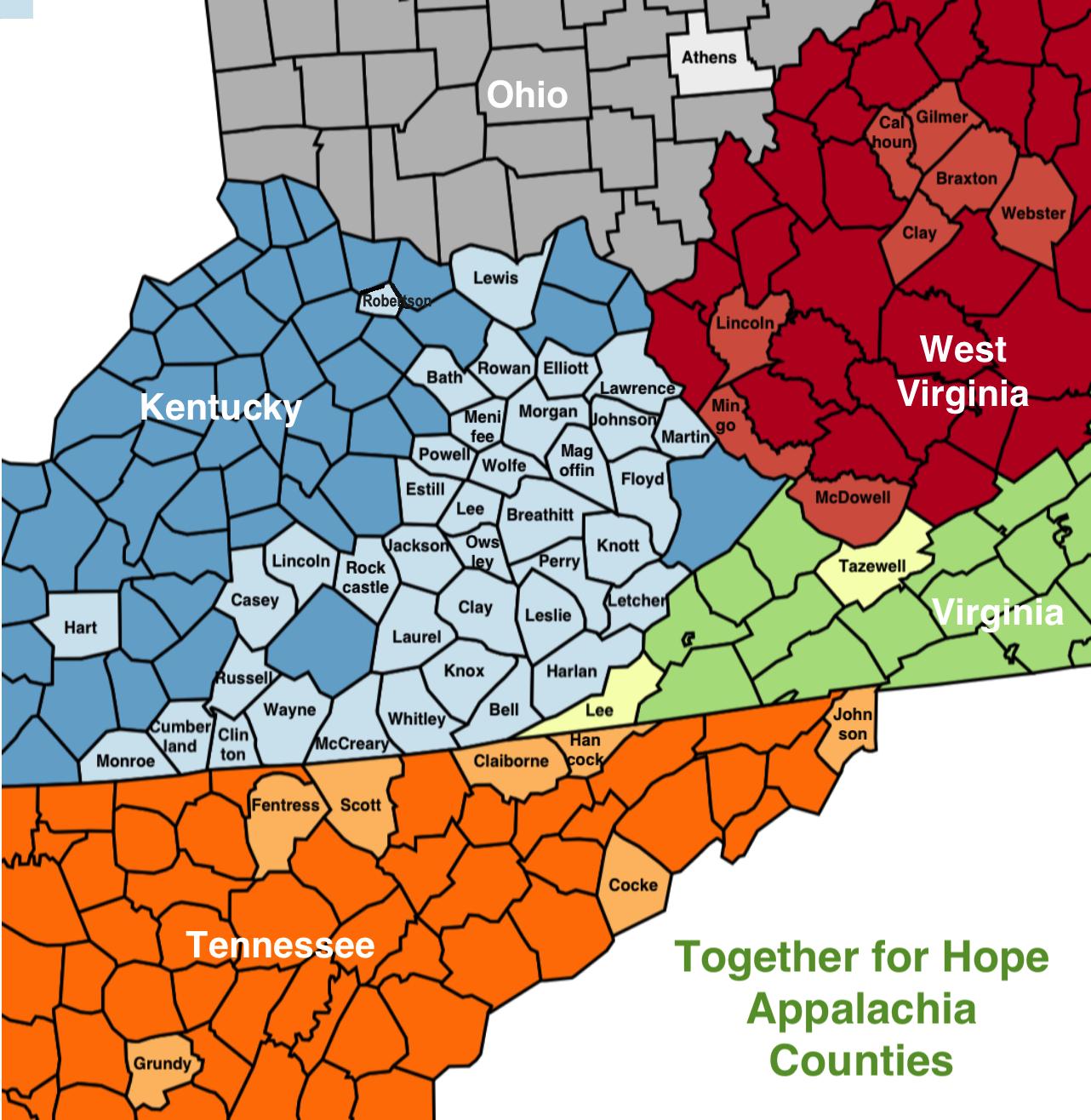 TFH+Appalachia+Counties+